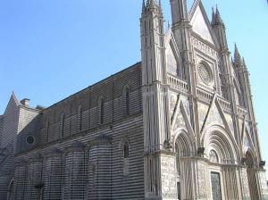 La cathédrale d'Orvieto, Ombrie. Auteur et Copyright Marco Ramerini