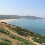 La Spiaggia di Funtanamare, Gonnesa, Sardegna. Autore e Copyright Marco Ramerini