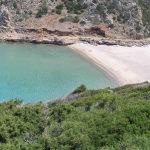 La spiaggia di Cala Domestica, Sardegna. Autore e Copyright Marco Ramerini