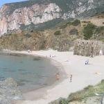 La spiaggia di Masua. Autore e Copyright Marco Ramerini