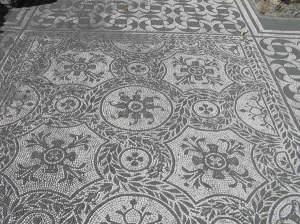 Mosaicos, Hospitalia, Villa Adriana, Tivoli. Autor e Copyright Marco Ramerini.
