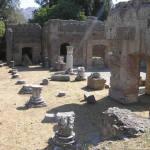 Triclinio Imperiale, Villa Adriana, Tivoli. Autore e Copyright Marco Ramerini