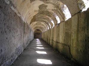 Villa Adriana, Tivoli. Autor e Copyright Marco Ramerini.