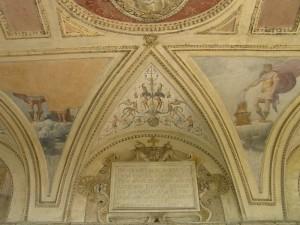 Afrescos, Castelo de Santo Ângelo, Roma. Autor e Copyright Marco Ramerini