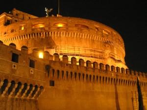 Castelo de Santo Ângelo, Roma. Autor e Copyright Marco Ramerini