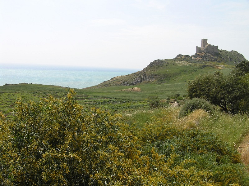 Château de Montechiaro, Palma di Montechiaro, Sicile. Auteur et Copyright Marco Ramerini