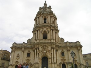 Cathédrale, Modica, Sicile. Auteur et Copyright Marco Ramerini