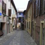I dipinti sui muri di Dozza, Bologna. Autore e Copyright Marco Ramerini.