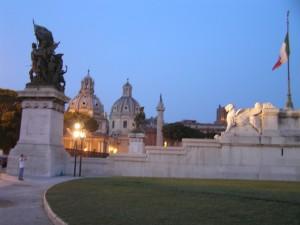 O Altar da Pátria, Roma. Autor e Copyright Marco Ramerini