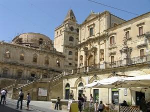 L'église de San Francesco, Noto, Sicile. Auteur et Copyright Marco Ramerini