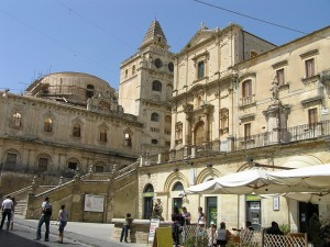 A Igreja de San Francesco, Noto, Sicília. Autor e Copyright Marco Ramerini