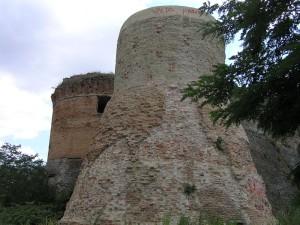 La Rocca di Monte Poggiolo, Castrocaro Terme e Terra del Sole, Forli-Cesena. Autore e Copyright Marco Ramerini
