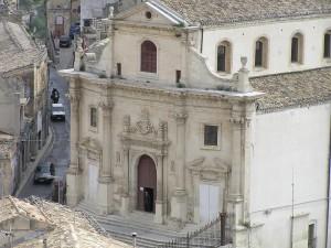 A igreja do Purgatório, Ragusa, Sicília. Autor e Copyright Marco Ramerini