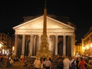 Panteão, Roma. Autor e Copyright Marco Ramerini