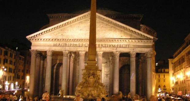 Pantheon, Roma, Lazio. Autore e Copyright Marco Ramerini..