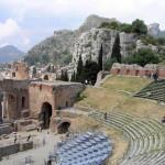 Teatro, Taormina, Sicilia, Italia. Autore e Copyright Marco Ramerini