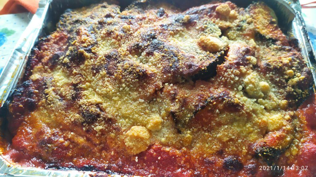 Parmigiana di melanzane non fritte Italyaround.com