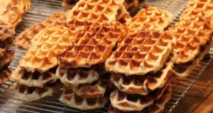 Gaufres de Liège o Waffles (cucina belga). Autore Jacques Renier. No Copyright