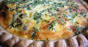 Quiche di Funghi. Autore Bob Bon (dizznbonn). Licensed under the Creative Commons Attribution
