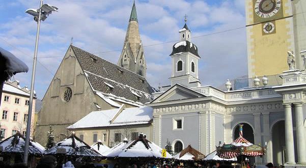 Mercatino di Natale di Bressanone, Trentino-Alto Adige, Italia. Autore e Copyright Liliana Ramerini