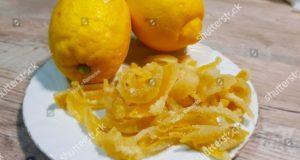 Scorze di limone. Autore e Copyright Marco Ramerini